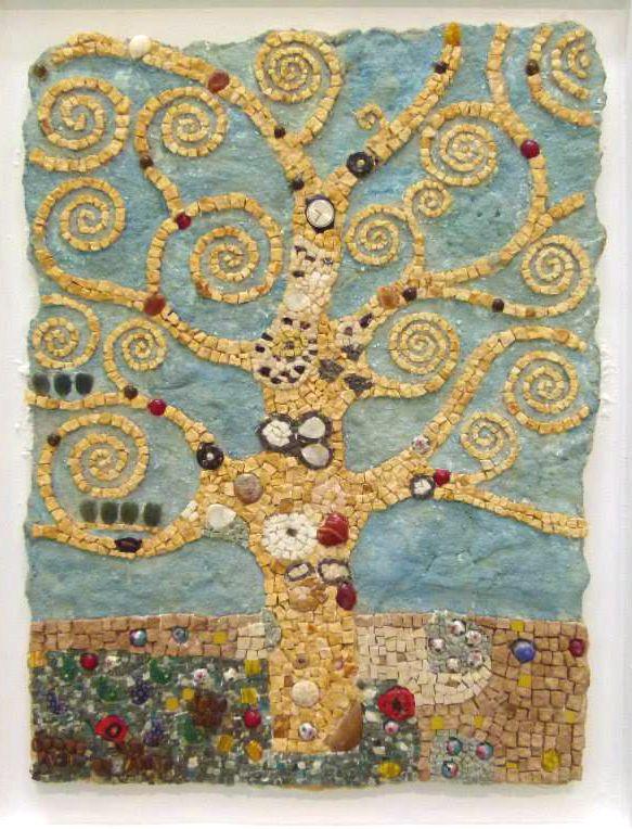 A Klimt inspired tree.