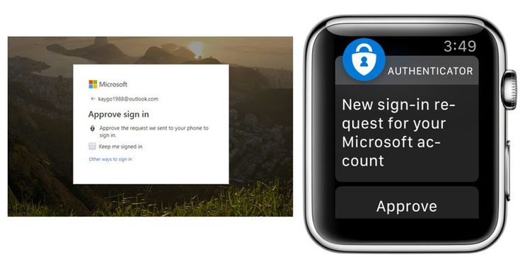 Microsoft Authenticator app launches for Apple Watch in