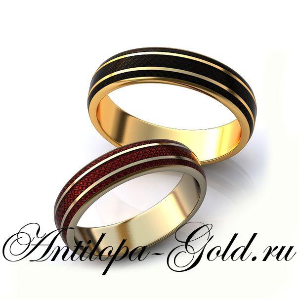 Обручальное кольцо эмаль купить в подмосковье