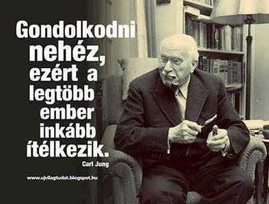 Carl Jung #idézet | A kép forrása: Gondolkodó