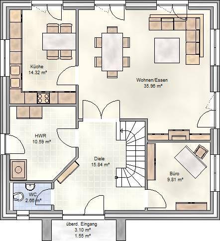 Grundriss stadtvilla 160 qm  Die besten 10+ Wohnfläche Ideen auf Pinterest | Loft-schlafzimmer ...