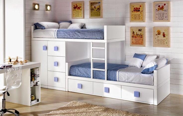 100 mejores im genes sobre dormitorios en pinterest for Dormitorios con poco espacio