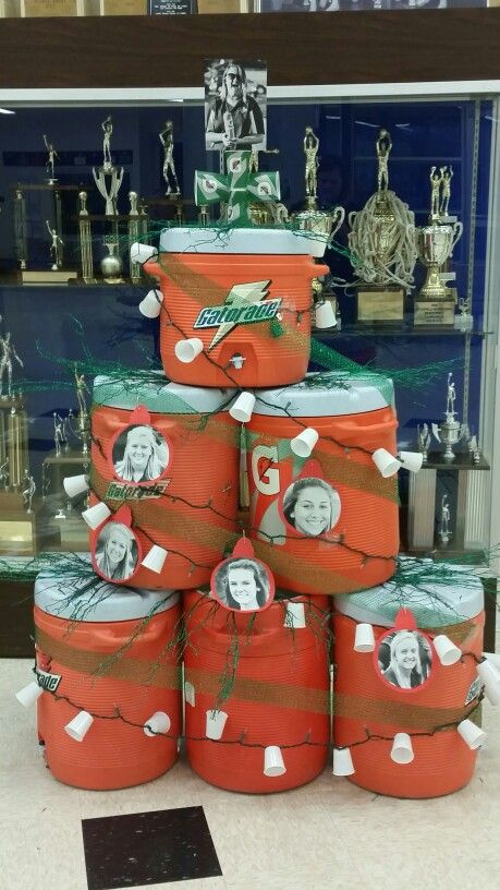 Looking for an Athletic Training Tree this Christmas! This is the one we came up with for our tree competition!!