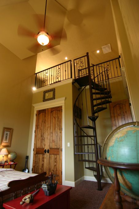 32 Best Ideas About Spiral Staircase To Attic Amp Attic