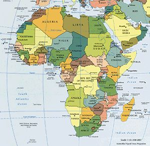 202 best world maps images on pinterest viajes destinations and africa map map of africa facts geography history of africa gumiabroncs Images