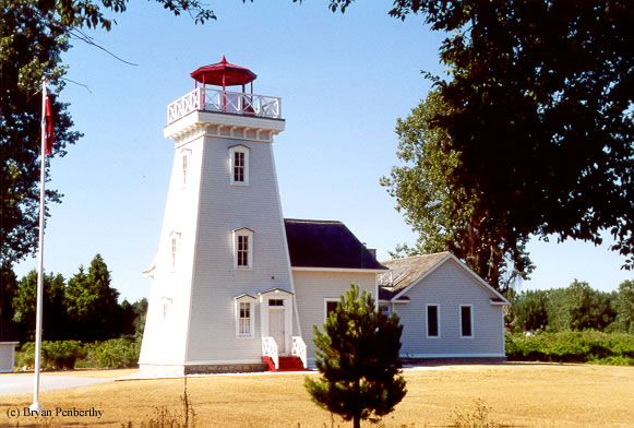 Old Cut Lighthouse (Long Point, Ontario, Canada) - built in 1879.