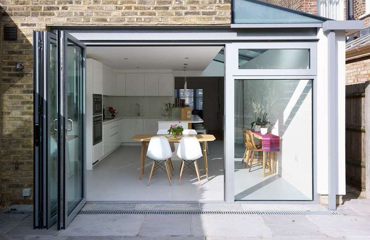 The owner of this victorian terrace had lived in the house for Terrace kitchen extension