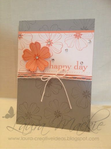 Stampin Up! Ideas & Supplies: make my monday - paper piercing