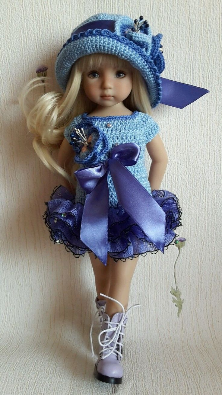 "OOAK Outfit for doll 13"" Dianna Effner Little Darling hand made:"