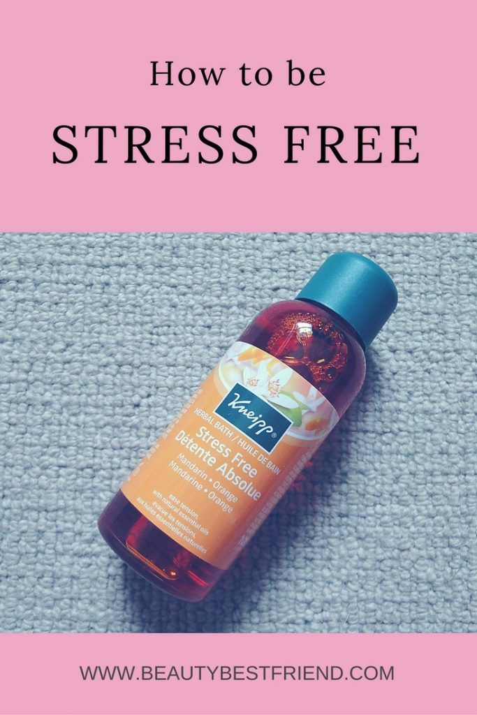 Always feel stressed out or anxious?  This herbal bath from Kneipp uses natural essential oils to calm the body and uplift the mind. I use it regularly whenever I'm feeling a bit frazzled.  Read my review to find out all about it.  Stress free | beat stress | natural remedy | herbal bath | Kneipp herbal bath | relax