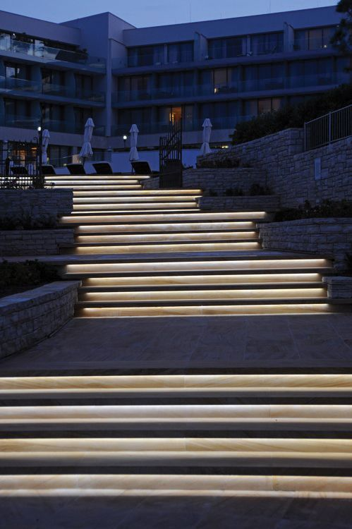 25 best ideas about stair lighting on pinterest led stair lights lights for stairs and led Exterior linear led lighting