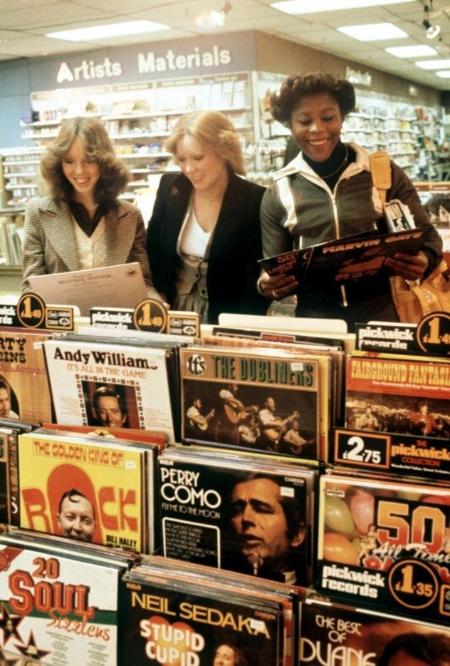 I miss record stores. Visiting one was a special experience, not mere shopping. Remember the album cover art? And the intentional sequence of the songs on the albums?