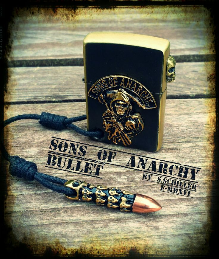 Custom Zippo Sons of Anarchy Bullet
