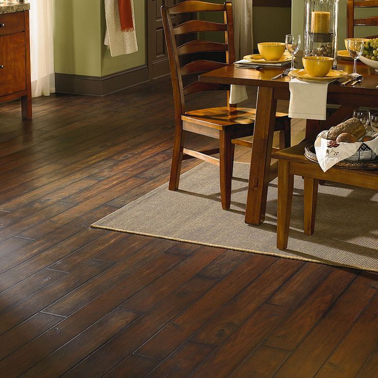 Vinyl Flooring Is No Longer The Ugly Choice It Used To Be This Beautiful Ashford Walnut Plank From Manningtons Adura Collection