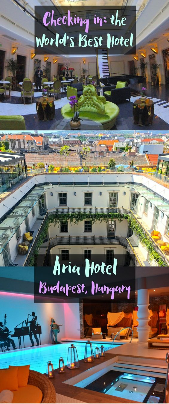 Aria Hotel in Budapest is hands down, my favorite hotel that I've ever stayed in. This hotel is a music themed hotel in Budapest that pays incredible attention to detail. This hotel has incredible food, an awesome atmosphere, and beautiful views from the rooftop terrace. See what else I loved about Aria hotel and what you need to know before you go. Don't forget to save this Aria hotel guide to your travel board so you can find it before your next trip to Budapest.