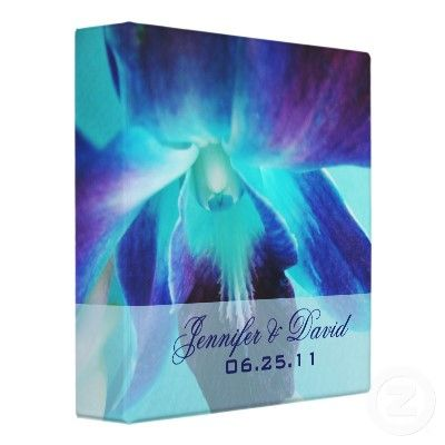 The Blue Orchid Wedding Binder - shall I order it now?
