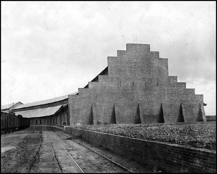 hans poelzig @ chemical fabric luban – superphosphatschuppen 2[ 1909-1912] | The Charnel-House