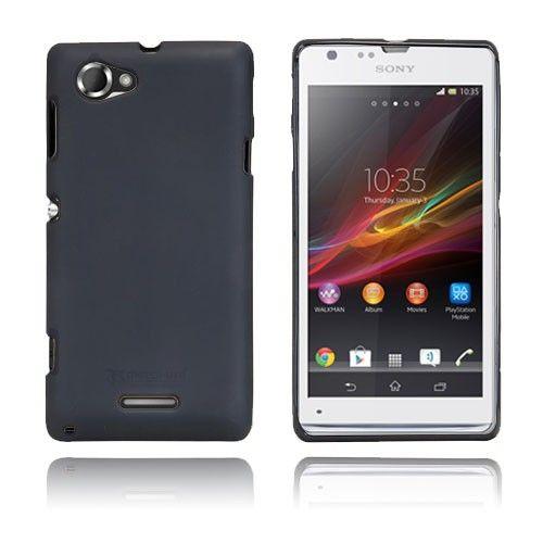 Simple (Black) Sony Xperia L Cover