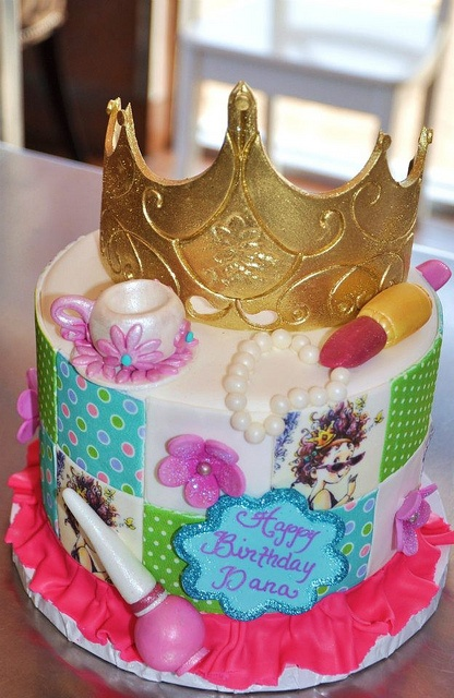 Fancy Nancy Cake :) by thecakemamas, via Flickr