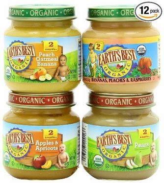 Earth's Best Organic Baby Food Deal – as low as $.61 per jar shipped...anything without grains!  Don't want a fussy, constipated baby