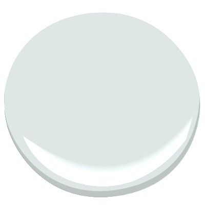 BM gray sky is a really beautiful light gray (not green, blue, etc) if anyone is looking for one. It almost has a silvery tone to it. I was told it was a popular color at our local paint store. I could see why it's easy to like.