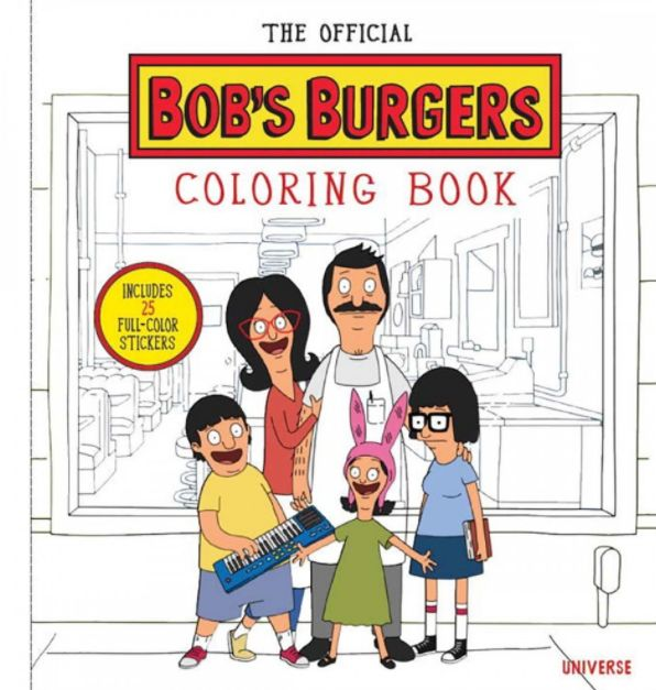 The Official Bob's Burgers Coloring Book, for anyone who dreams of being a member of the Belcher clan. | 27 Coloring Books For Everyone On Your List