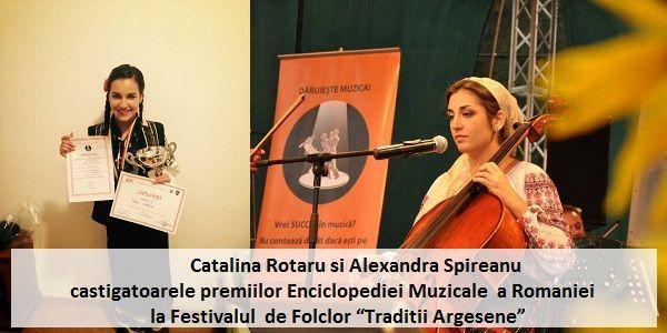 Premiile Enciclopediei Muzicale la Festivalul Traditii Argesene