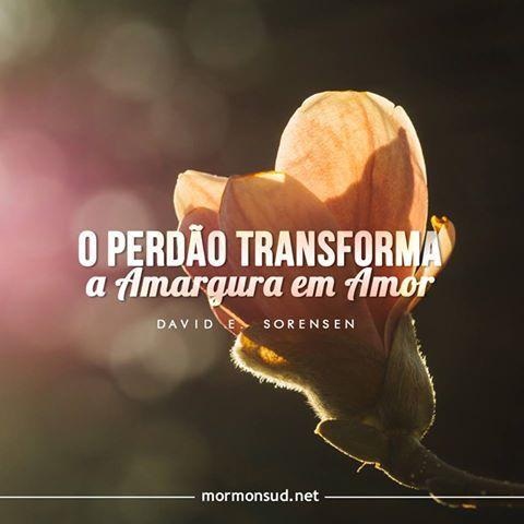 Faça algo que às vezes é mais difícil do que perdoar: esqueça. - Elder Holland Acesse: http://mormonsud.net