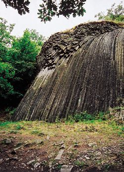 Kamenný vodopád, Národná prírodná rezervácia Šomoška, (Stone waterfall, Šomoška - Slovak National Nature Reserve)
