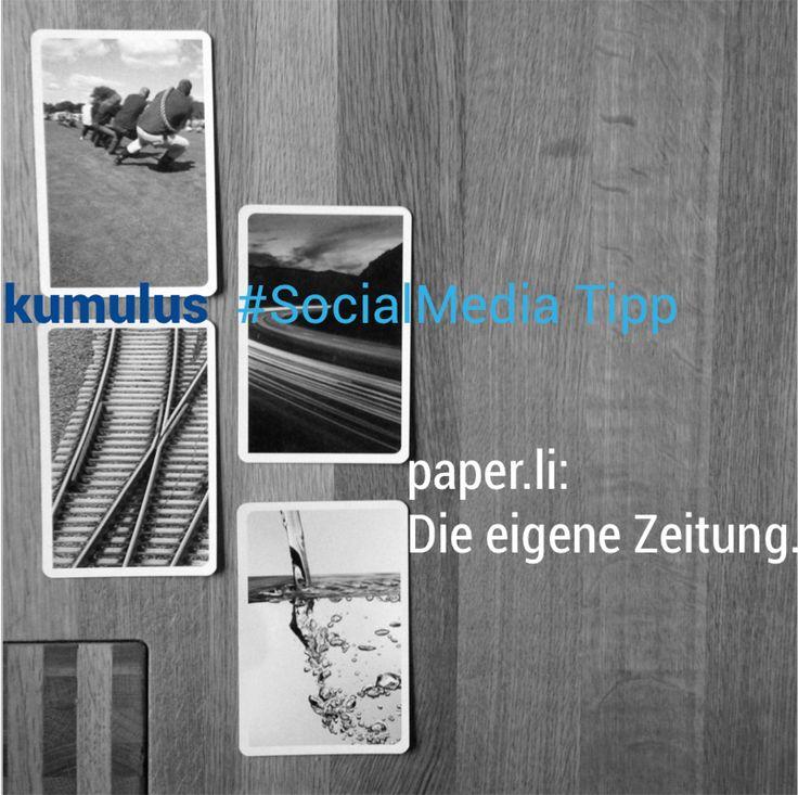 Die eigene Zeitung mit paper.li – kumulus #SocialMedia Tipp