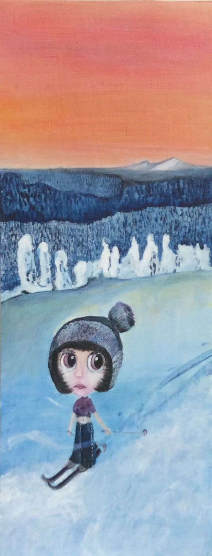 Wintersports Art, Painting