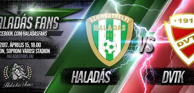 Szombathelyi Haladás-Diósgyőri VTK 2-0 (1-0)
