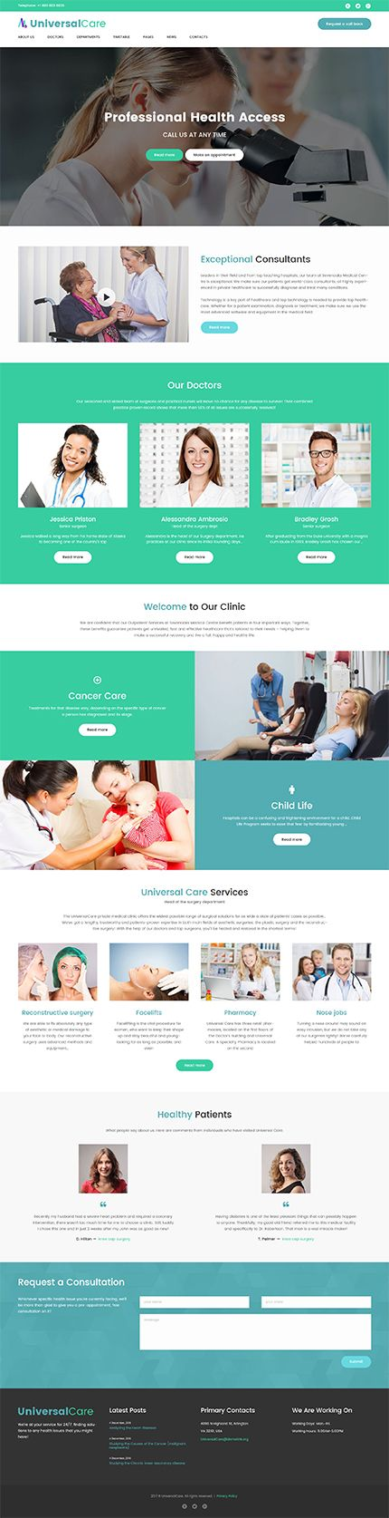 Medical website inspirations at your coffee break! Browse for more WordPress #templates! // Regular price: $75 // Sources available:.PHP, This theme is widgetized #Medical #WordPress  #store #equipment #aid #monitor #exam #first #medical #cosmetic #therapy #medicine #clinic #laboratory #veterinary #cardiology #ambulance #surgical #pump #ophthalmology #neonatal #respiratory #neurology #endoscopy #defibrillator #cardiologist