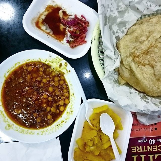 Stuffed Can T Beat Going Out For Some Halwa Puri On A Weekend Today S Choice Lazeeza On Another Note How Has It Been A Month Since My Halal Desi Food Eat