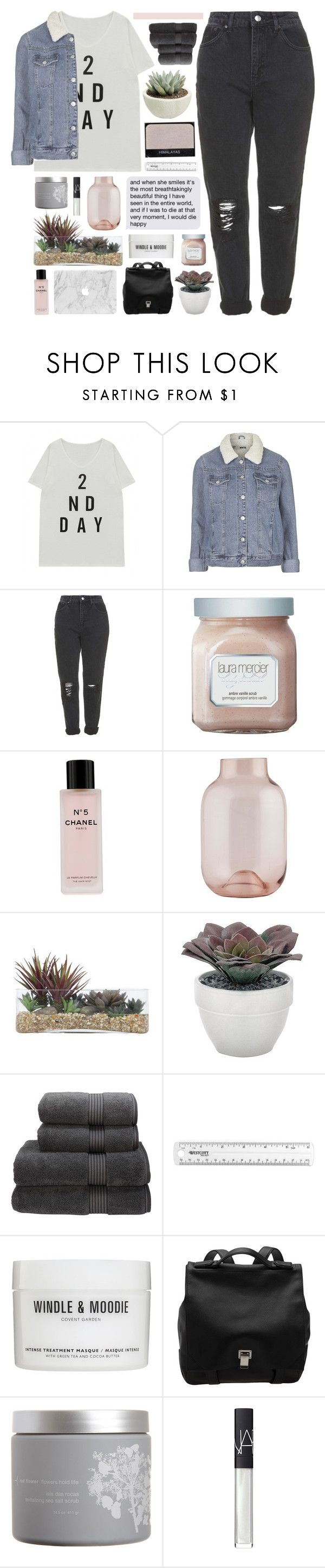 """if you love me, why'd you let me go?"" by other-flying ❤ liked on Polyvore featuring Topshop, Laura Mercier, Chanel, House Doctor, NARS Cosmetics, Lux-Art Silks, Torre & Tagus, Christy, Proenza Schouler and red flower"