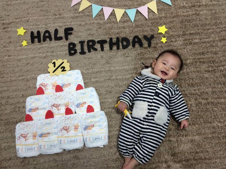 Medienvorschau Baby Boy Newborn Photography Half Birthday Baby Newborn Baby Photography
