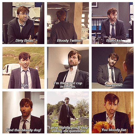 Going on a David Tennant binge, and I have never regretted finding this man so damn much before watching broadchurch. On to Blackpool. Allons-y!