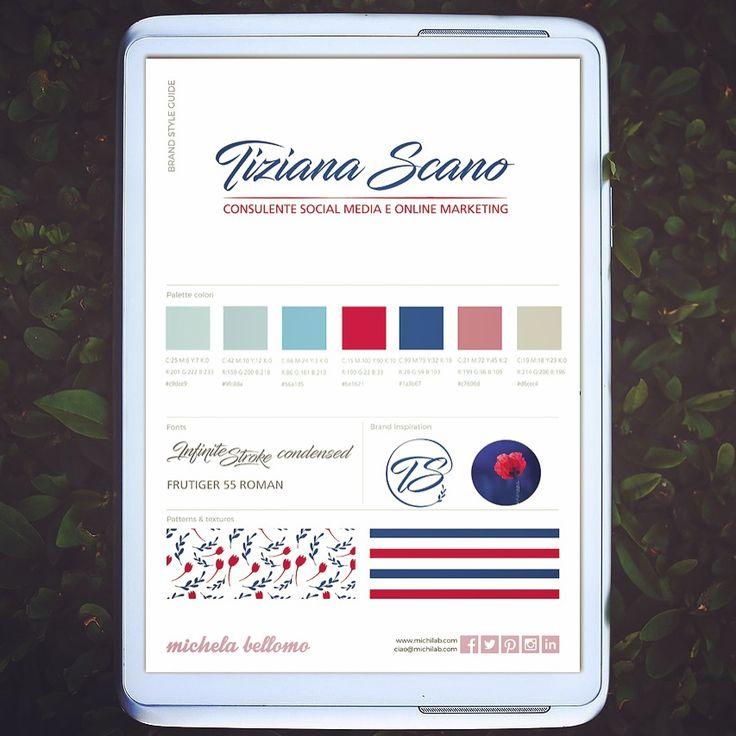 Brand identity Tiziana Scano