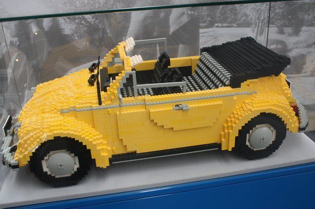 LEGO volkswagen new beetle sport
