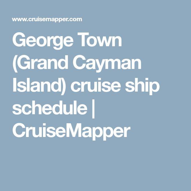 Best George Town Cayman Islands Ideas On Pinterest Grand - Cruise ship schedule grand cayman