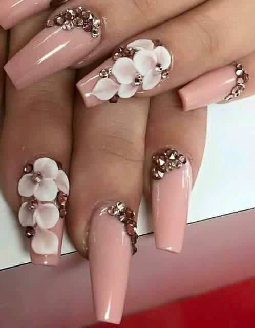 608 best uñas images on Pinterest   Acrylic nail designs, Nail ...