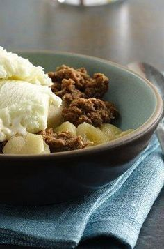 When fall is in the air, the apple crisp cravings strike! Luckily, this classic apple crisp recipe is super easy—and approved by Betty readers, who have shared the recipe thousands of times on Pinterest and Facebook. Whip it up after a long day at the apple orchard, and feel free to sub in 4 cups fresh or frozen (thawed and drained) blueberries if you're short on apples.