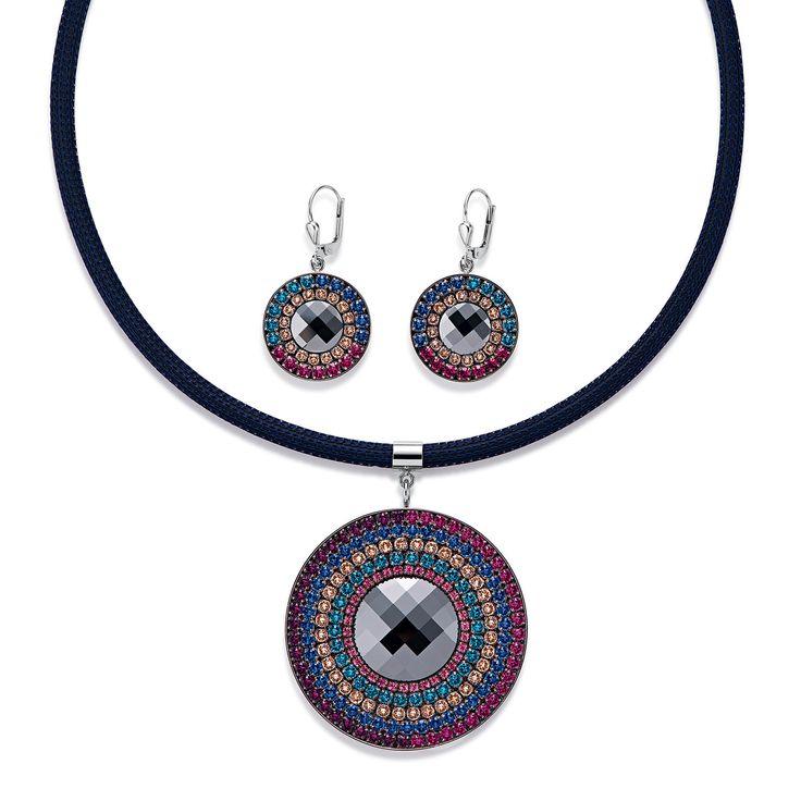 Swarovski pendant nightshade blue 4836_1555 – coeur de lion jewellery