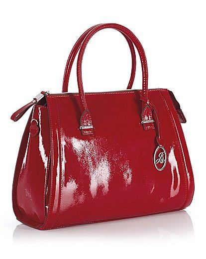 Jane Shilton Patent Tote Bag