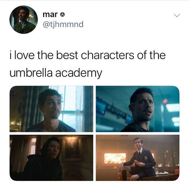 Pin By Ultimate Fan Of Everything On Umbrella Academy Funny Umbrella Umbrella Academy