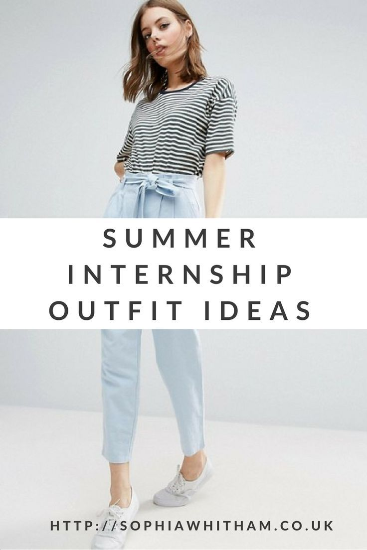 Summer Internship Outfit Ideas - Smart Casual and Affordable