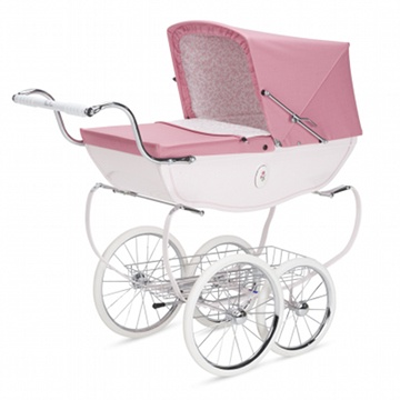 I had one like that but it wasn't pink ~ Baby buggy