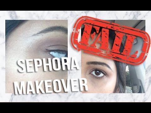 SEPHORA MAKEOVER FAIL & SORORITY CRAFTING! - http://47beauty.com/sephora-makeover-fail-sorority-crafting/ http://47beauty.com/beauty-tutorials/sephora/   Video Rating:  / 5[/random]