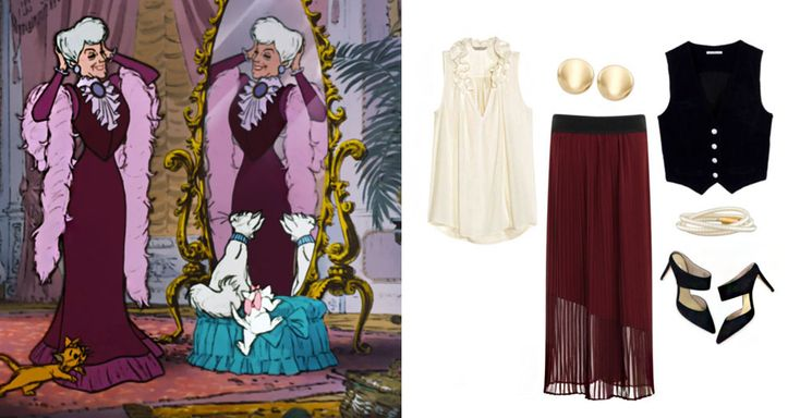 3 Parisian outfits inspired by Disney and Disney•Pixar characters | Aristocats | [ https://style.disney.com/fashion/2016/06/28/parisian-style/ ]