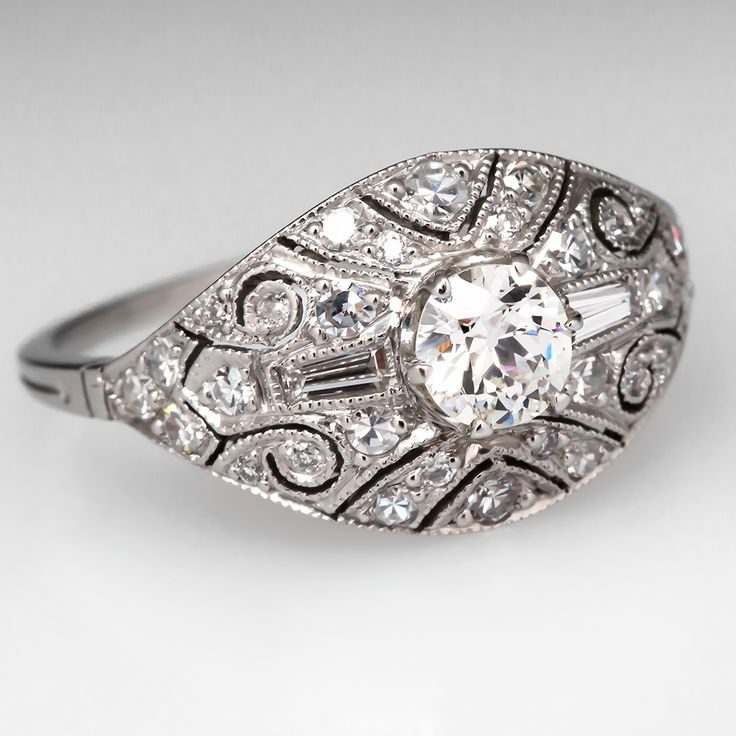 1000 Images About Antique Engagement Rings On Pinterest